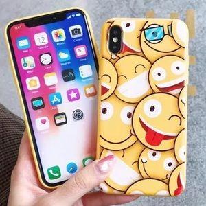 NEW iPhone 7+/8+/6+/6s+ Emoji Soft Case